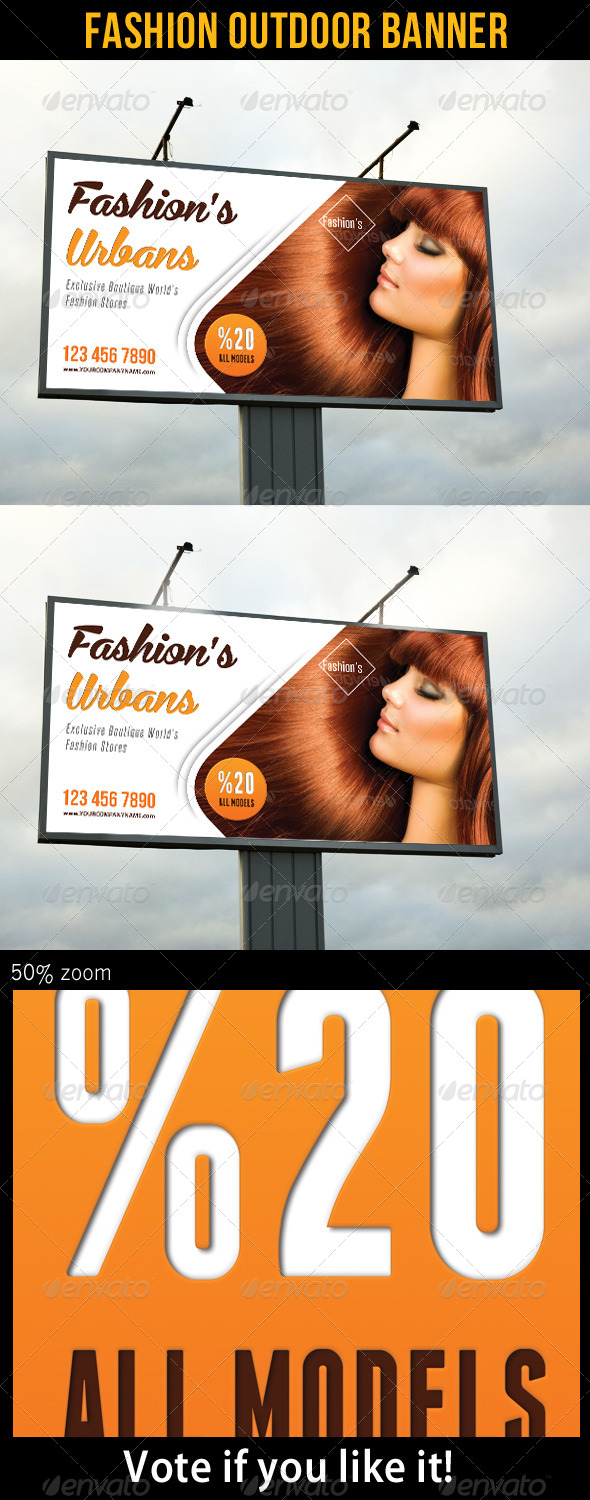 GraphicRiver Fashion Outdoor Banner 23 7476268
