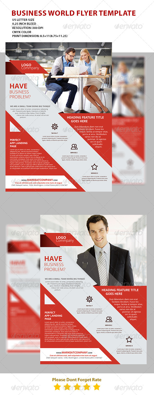 GraphicRiver Modern Creative Flyer 1 7476567
