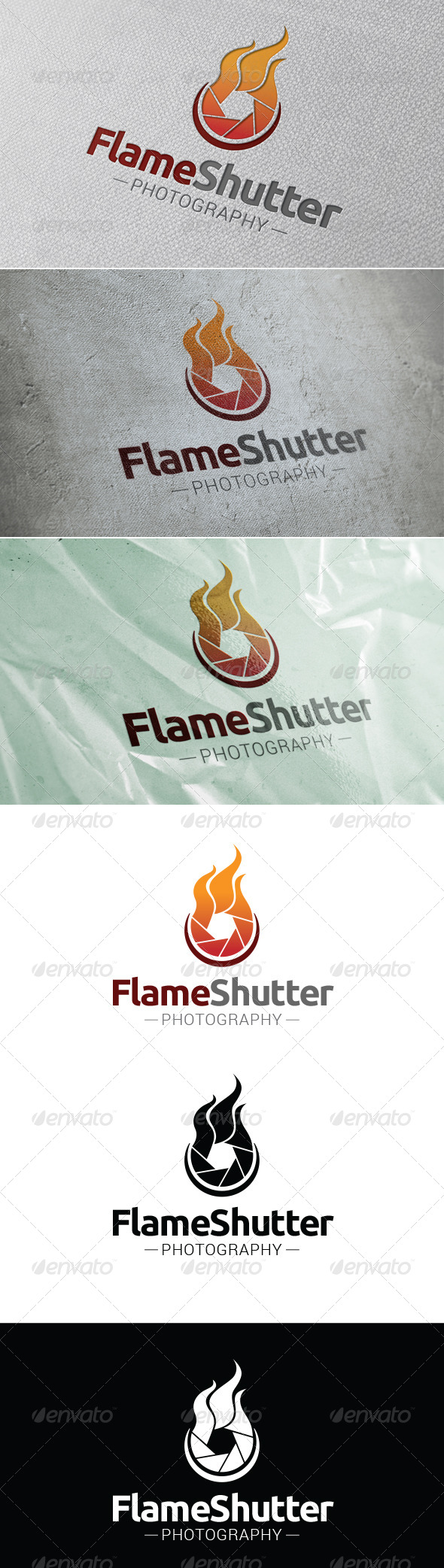GraphicRiver Flame Shutter Logo Template 7477018