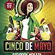 Cinco de Mayo Flyer Template - GraphicRiver Item for Sale