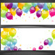 Background with Colorful Balloons - GraphicRiver Item for Sale