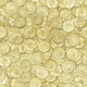 Golden Coins Seamless Texture or Background