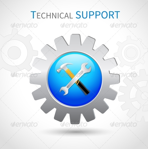 GraphicRiver Technical Support Icon 7480160