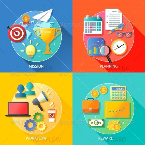 GraphicRiver Business Success Steps 7480252