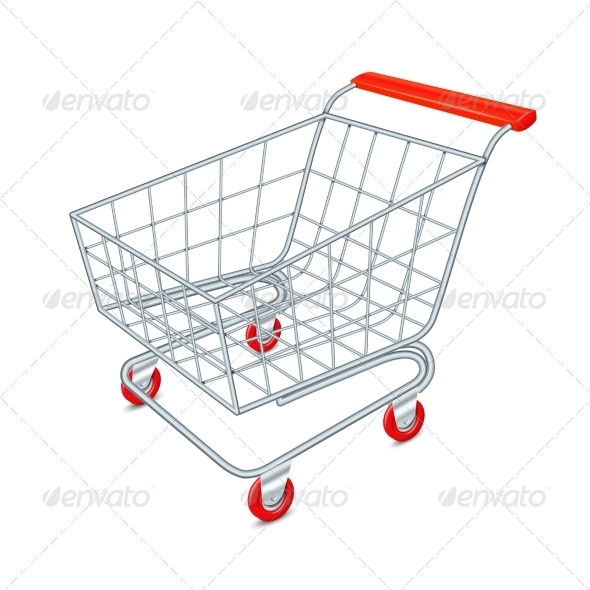 GraphicRiver Shopping Cart Concept 7480258