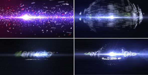 Particle Effect 3 Logo Reveal