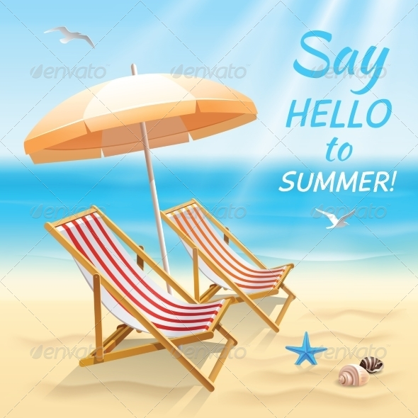 GraphicRiver Summer Holidays Background Wallpaper 7480286