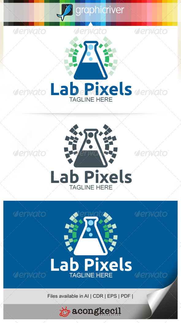 GraphicRiver Lab Pixels 7480500