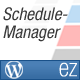 ez Schedule Manager - WordPress Plugin - CodeCanyon Item for Sale
