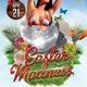 Easter Madness Party Flyer - GraphicRiver Item for Sale