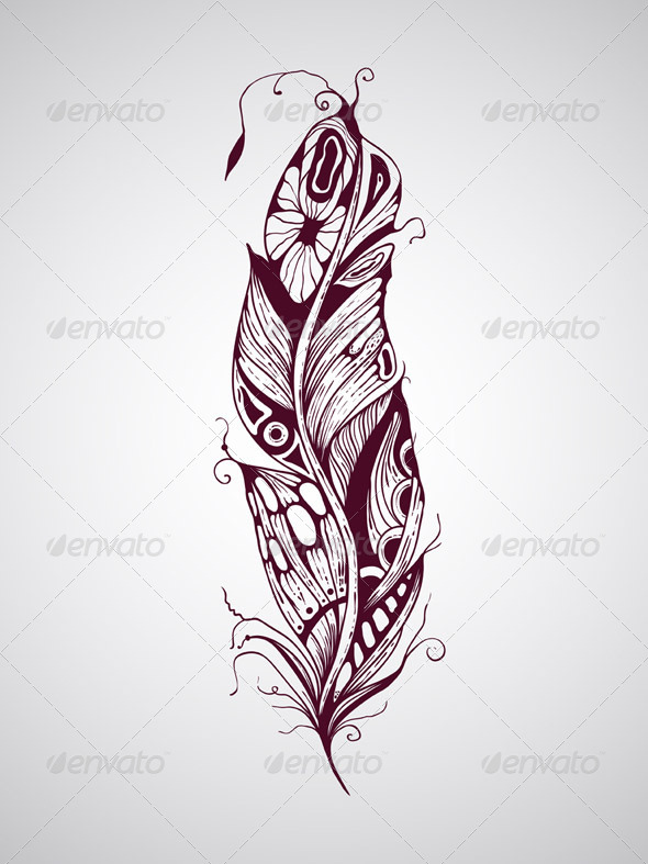 GraphicRiver Feather 7481301