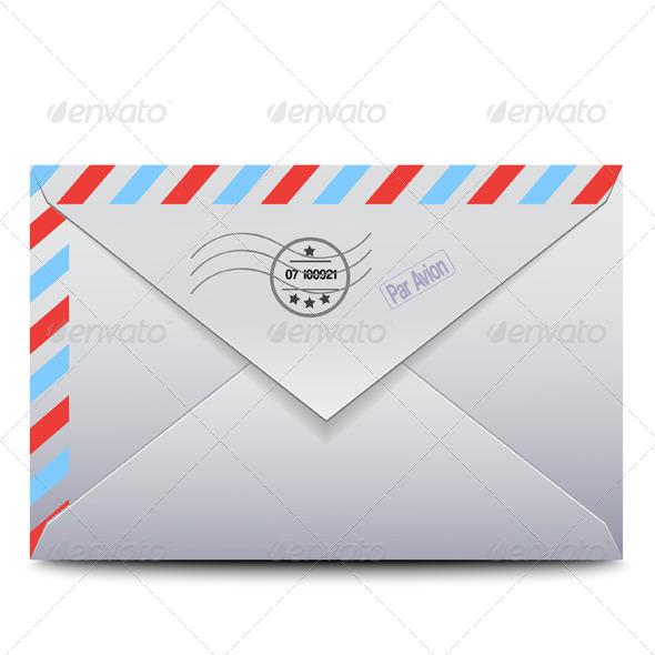 Envelope Par Avion