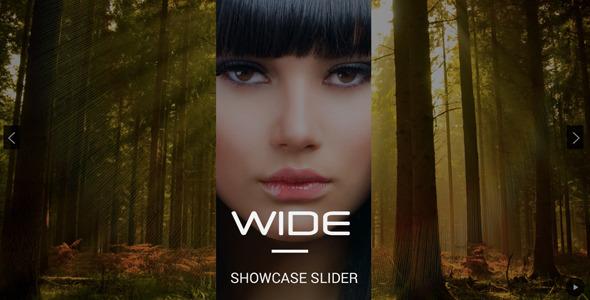 CodeCanyon WIDE Showcase Slider for WordPress 7481435