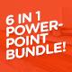 Slidehack's 6 in 1 Powerpoint Bundle