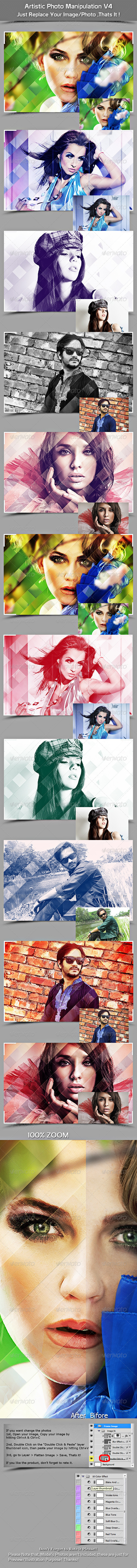 GraphicRiver Artistic Photo Manipulation V4 7482588