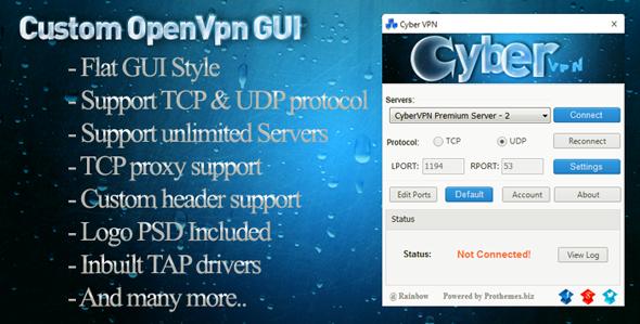 CodeCanyon Custom OpenVPN GUI 7423999