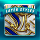 26 Luxe layer styles - GraphicRiver Item for Sale