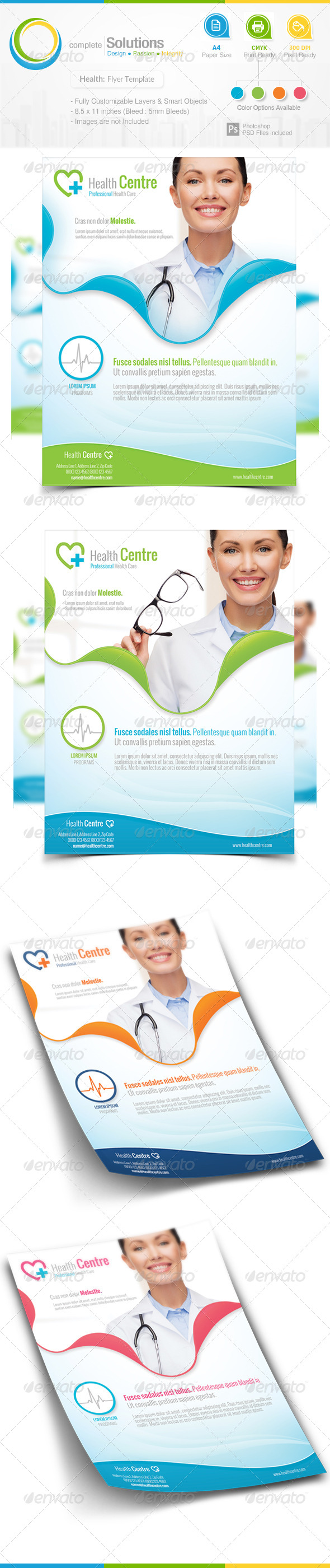 GraphicRiver Health Care Flyer 7365135