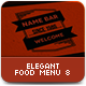 Elegant Food Menu 8 - GraphicRiver Item for Sale