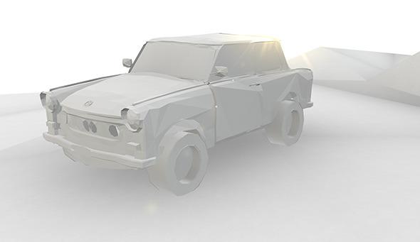 3DOcean Paper Trabant 7485344