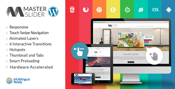 Master Slider - WordPress Responsive Touch Slider - CodeCanyon Item for Sale