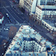 Paris Top View on Street - VideoHive Item for Sale