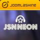 JSN Neon - Joomla Music Theme & JomSocial support - ThemeForest Item for Sale