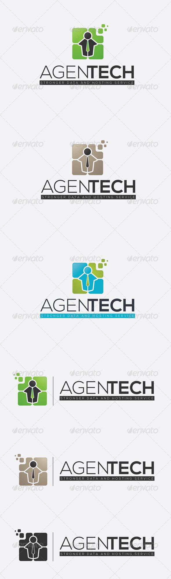 GraphicRiver Agent Staff Logo 7486112
