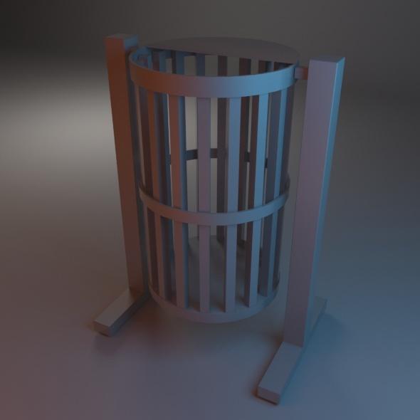 3DOcean Trash Bin 01 7486305