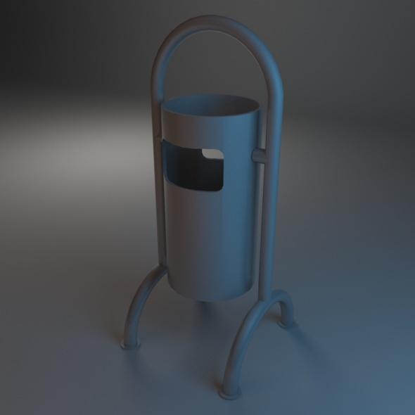 3DOcean Trash Bin 05 7486317