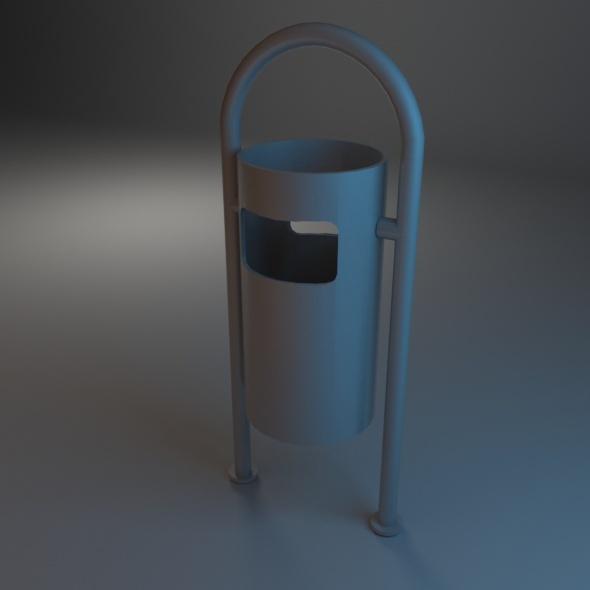 3DOcean Trash Bin 06 7486318