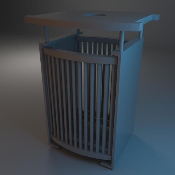 3DOcean Trash Bin 07 7486322