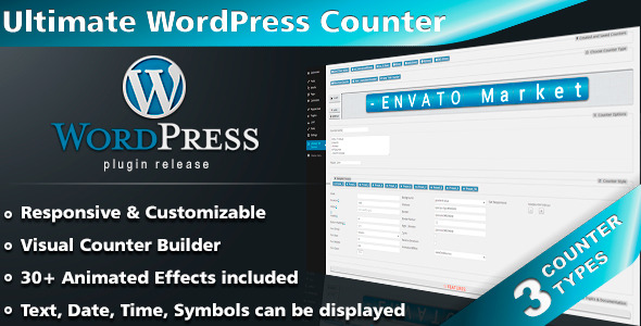 CodeCanyon Ultimate WordPress Counter Plugin 7464771