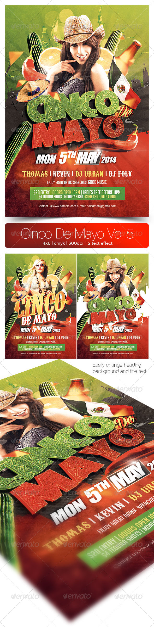 GraphicRiver Cinco De Mayo Vol 5 7487778