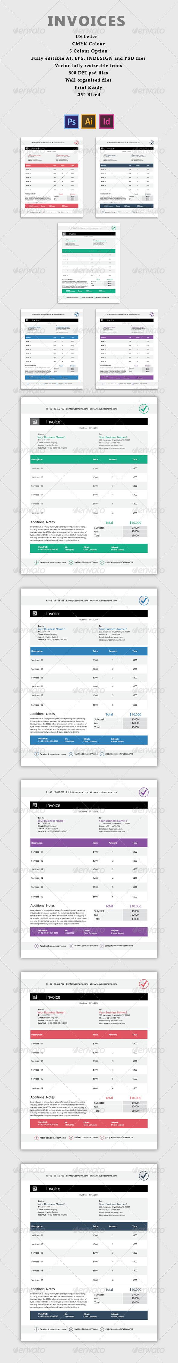 GraphicRiver Invoices 7472885