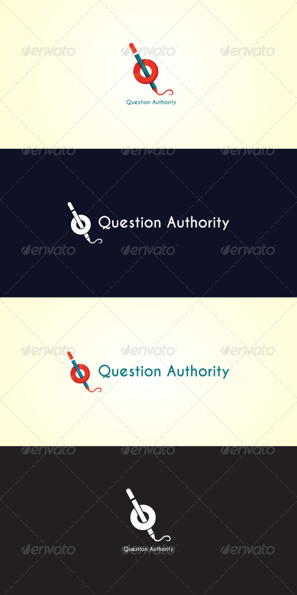 GraphicRiver Question Authority Stock Logo Template 7487816