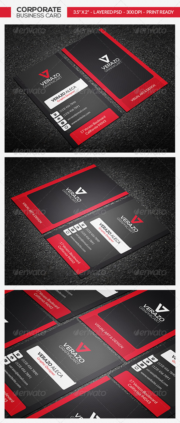 GraphicRiver Creative & Modern Business Card 24 7488233