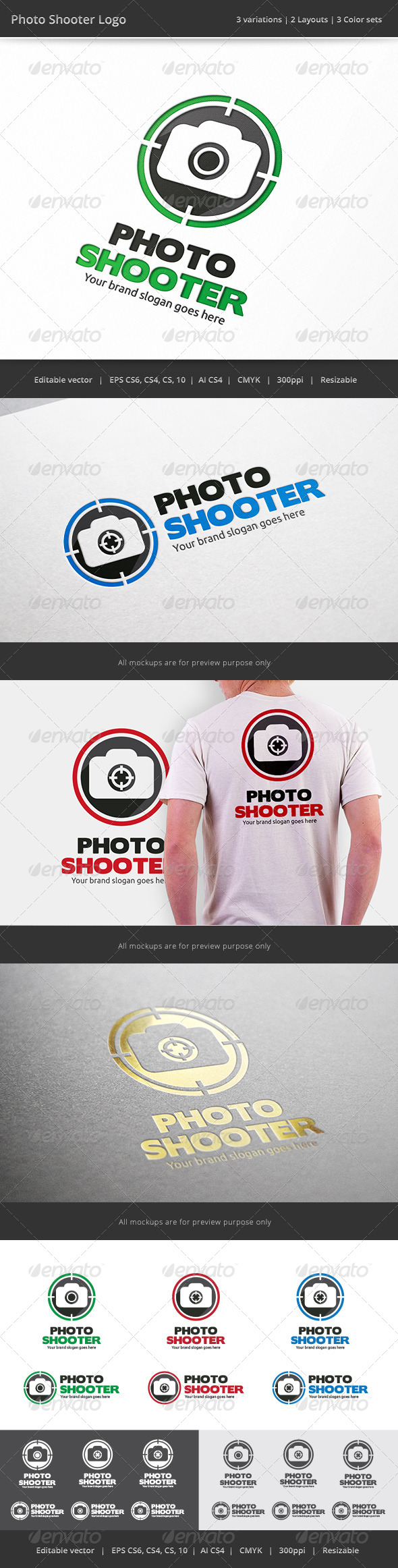 GraphicRiver Photo Shooter Logo 7488256