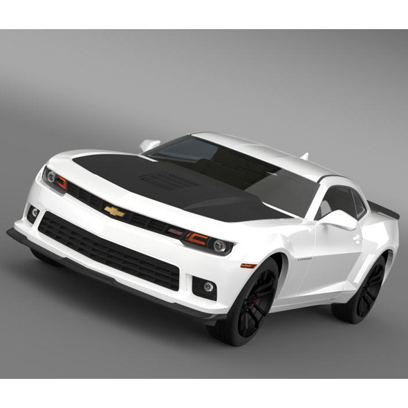 Chevrolet Camaro 1LE 2014 - 3DOcean Item for Sale