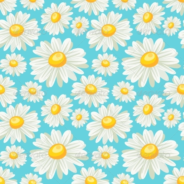 GraphicRiver Chamomile Pattern 7488559