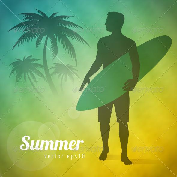 GraphicRiver Surfer 7488795