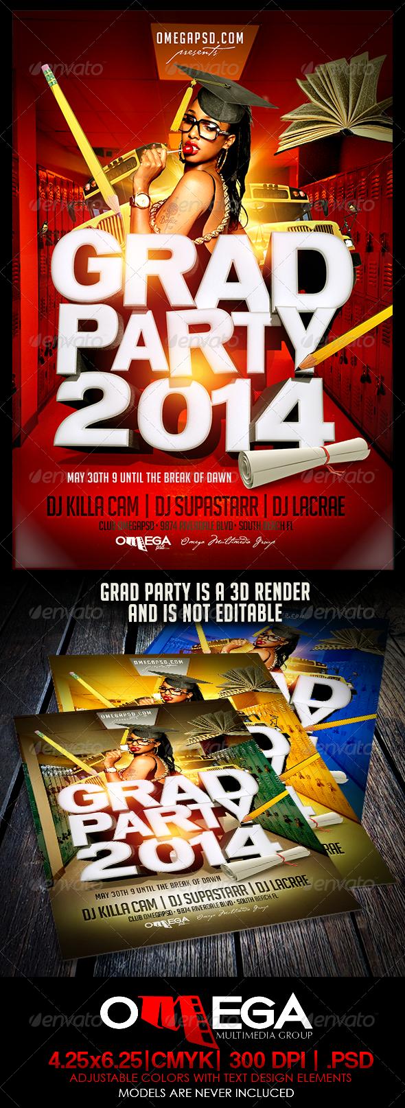 GraphicRiver Grad Party 2014 7475970