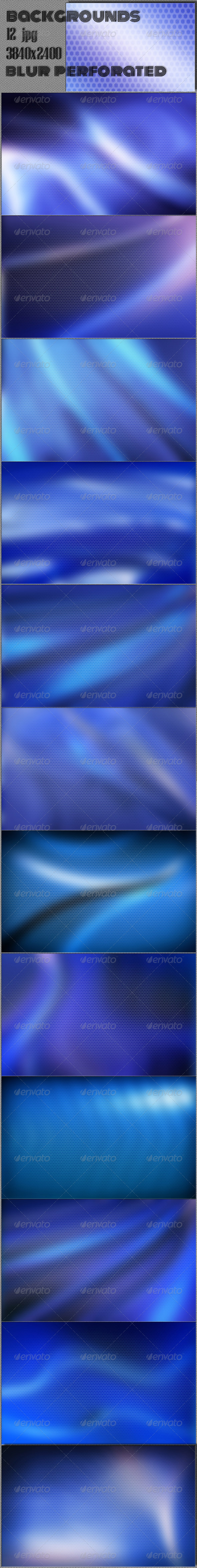 GraphicRiver Blurred Perforated 4K Background 7489134