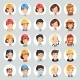 Professions Vector Characters Icons Set1.2 - GraphicRiver Item for Sale