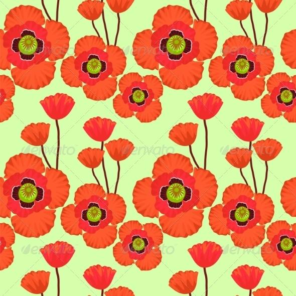 GraphicRiver Poppy Pattern 7489292