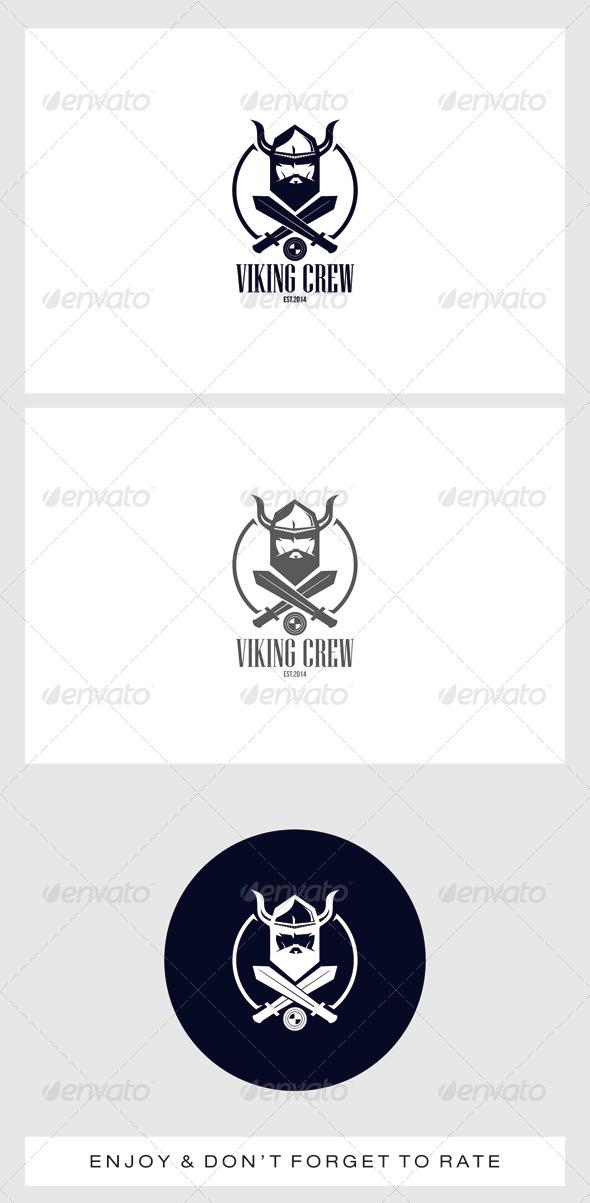 GraphicRiver Viking Head Logo 7489966