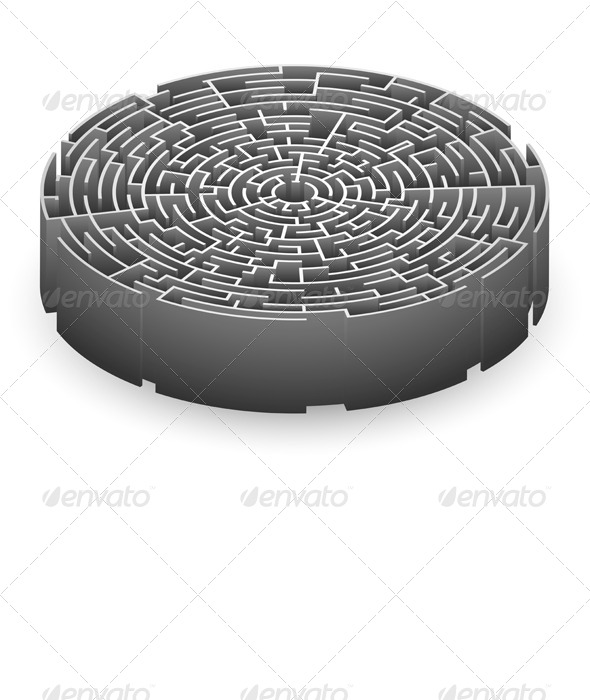 GraphicRiver Labyrinth 7490094