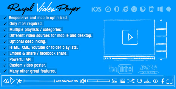 CodeCanyon Royal Video Player 7490113