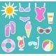 Beach Set - GraphicRiver Item for Sale