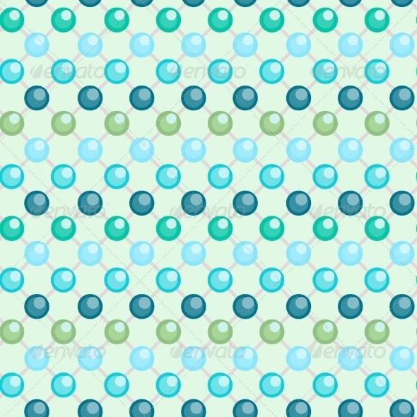 GraphicRiver Beaded Netting as Seamless Background 7490236